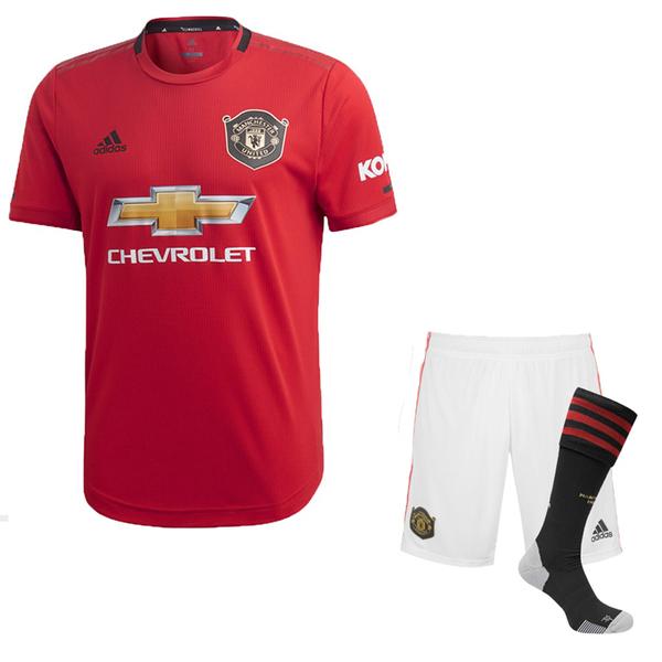 Манчестер Юнайтед форма домашняя 2019/20 (футболка+шорты+гетры)